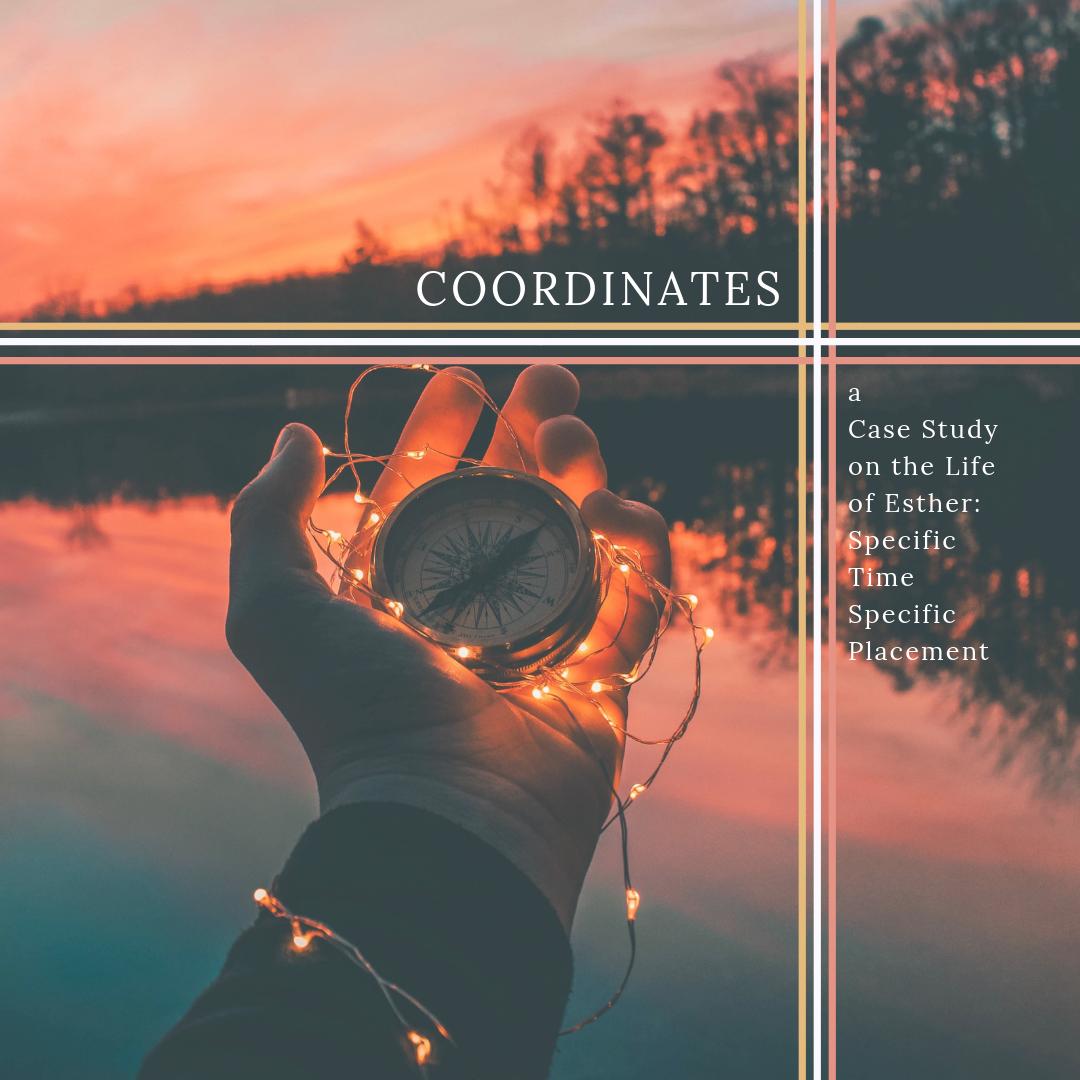 Coordinates - header